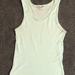 Hard Tail Forever Women's Ribbed Tank Top Mint S